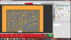 A screenshot of Fritzing PCB design software